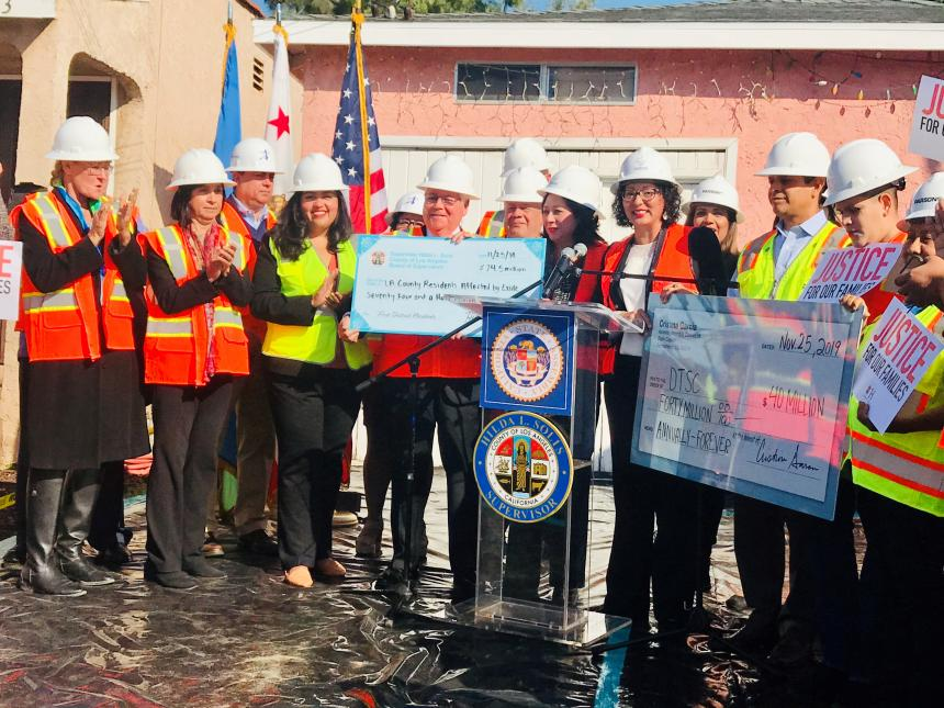 $75 Million to Clean Up EXIDE Lead Contamination in East Los Angeles and Surrounding Communities Moves Forward