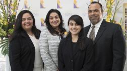 Asm. Carrillo with Leticia Guevara and family