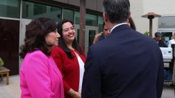 Asm. Carrillo speaks with Mayor Garcetti