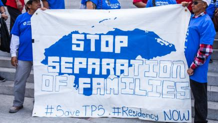 Stop separation of families