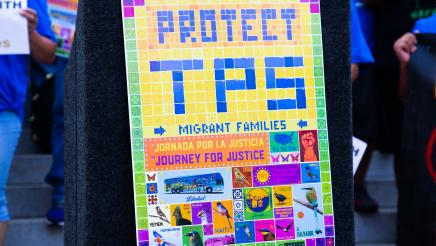 Protect TPS sign